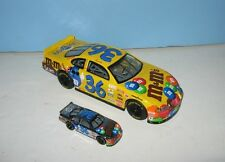 Yellow M&M's #36 NASCAR 1/24 Champions Diecast Car
