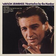 "WAYLON JENNINGS, CD ""HEARTACHES BY THE NUMBER"" NEW SEALED"