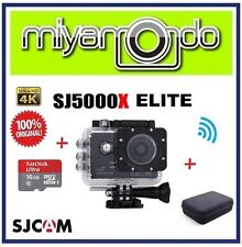 SJCAM SJ5000X Elite 4K WiFi Action Cam + Sandisk Ultra microSD + 16GB + Bag (BK)