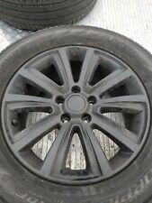 1 x 18inch VW Amarok wheel & no tyre & painted black.