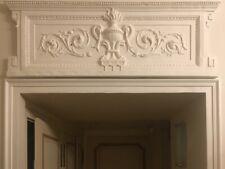 Dessus de porte, fronton style ancien XVIIIe. Réédition.