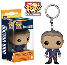 Doctor Who 12th Twelfth Doctor Pocket Pop! Keychain. Brand New. UK Seller.