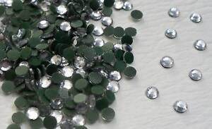 300 x 4mm (SS16) Hotfix Diamante Crystal Clear Rhinestone Gems
