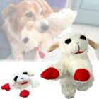 Soft Plush Dog Toys Squeaky Squeakers Heavy Aggressive Chewers Puppies Lamb Chew