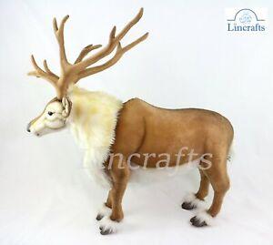 Hansa Nordic Reindeer 6860 Plush Soft Toy Sold by Lincrafts Established 1993
