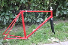 VINTAGE BATTAGLIN AERO COLUMBUS AIR VERY RARE STEEL FRAME + FULL CARBON FORK 56