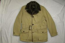 Vtg 60s Silton California Belted Jacket Coat Cotton Mod Hollywood Norfolk 70s