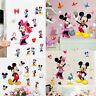 Cute Disney Mickey Minnie Mouse Wall Decals Sticker Kids Nursery Room Decor DIY