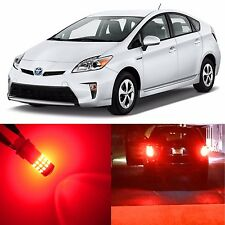 Alla Lighting Turn Signal Light 7440A Red LED Bulbs for Toyota RAV4 Prius C/ V