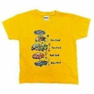 Mustang One Ford Two Ford Kids - Dr. Seuss Style Child's T-Shirt FREE USA SHIP!