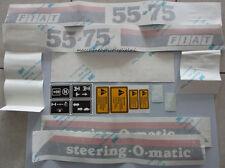 Serie Decalcomania-Adesivi Per Trattore Fiat 55-75 Steering-O-matic Cingolato...