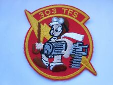 RAF/USAF squadron  cloth patch  303 TFS