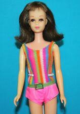 Vintage Barbie ORIGINAL Twist n Turn FRANCIE Brunette TNT Japan in OSS Swimsuit