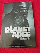 Planet of the Apes The Human War 2001 Gn Tpb Paco Medina Adrian Sibar