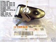 Yamaha Chappy LB50 LB80 DT250 DT175 DT400 Seat Lock with Keys NOS 1K8-24705-00