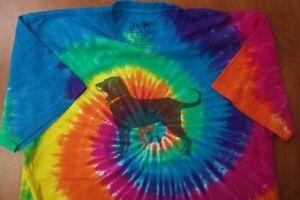 The Black Dog Marthas Vineyard Est 1971 Tie Dye Authentic Cotton T-Shirt M