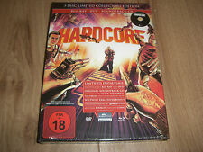 Hardcore 3-Disc Limited Collectors Edition Mediabook Blu-Ray + DVD + Soundtrack