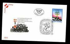 Austria 1989 Quality Control FDC #C2826