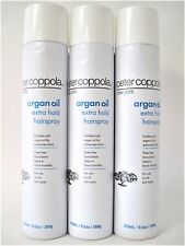 Peter Coppola Argan Oil Extra Hold Hairspray 9.5 oz Pack of 3