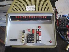 Electronica DD Rare Soviet Calculator Nixie Tube Clon Sharp Compet