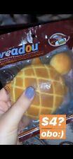 Rare Jumbo Breadou Turtle Pineapple Bread Squishy Slow Rise gift kiibru areedy