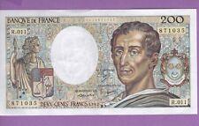 (Ref: R.011) 200 FRANCS MONTESQUIEU 1982 (SPL+)
