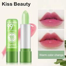 99% NEW ALOE VERA Natural Temperature Change Color Lipstick Moisturizing Makeup