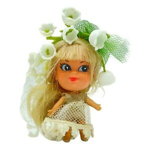 Vintage LIDDLE KIDDLE LILY OF THE VALLEY Doll Kologne Toy
