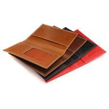 Otto Angelino Leather Passport Wallet - RFID Blocking - with Ticket Slot