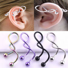 5549c76e1f2 Ear Surgical Steel Lobe 14g (1.6 mm) Body Piercing Jewelry for sale ...