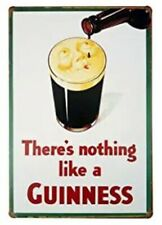 Guinness Tin Sign There Is Nothing Like A Guinness Dublin Ireland Irish Stout