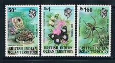 British Indian Ocean Territory 1973 Wildlife 1st Series SG 53/5 MNH