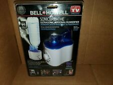 BELL + HOWELL SONIC BREATHE Ultrasonic Personal Humidifier NEW SEALED NIB