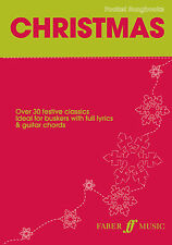 Pocket Songs Christmas Christmas Guitar Chords Voice Learn Play FABER Music BOOK