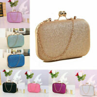 Ladies Evening Party Sparkling Purse Wedding Wallet Luxury Chain Prom Ladies Bag