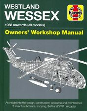 Westland Wessex - 1958 onwards (all models) - Owners' Workshop Manual - New Copy