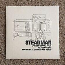 STEADMAN Revive 2002 PROMO CD ALBUM SAMPLER Wave Goodbye Carried Good to Go