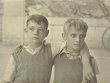 Tirage Charbon 18x24cm ; Lundi de Pentecôte en 1934