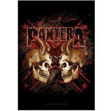 Pantera double skull Textile Poster Flag