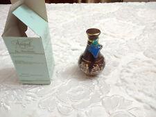 Handmade Ceramic Glass Collectible Empty Perfume Bottle Anapal Ceramics