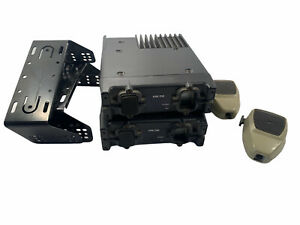 Lot of 2 Kenwood TK-890 UHF FM Transceiver with Mics NO wires