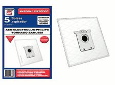 BOLSA ASPIRADOR SINTETICA AEG-ELECTROLUX-PHILIPS-TAURUS-TORNADO-ZANUSSI 915688 (