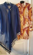 1960s womens vintage bathing suit cover or a kimono lot
