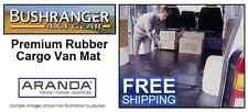BUSHRANGER Solid Rubber Cargo Van Mat : MERCEDES VITO SWB VAN W639 (2004-2015)