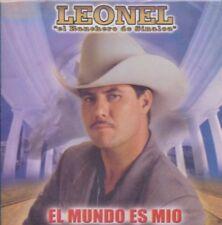 Leonel el ranchero El Mundo es Mio CD New Nuevo Sealed