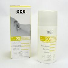 (12,49/100ml) Eco Cosmetics Sonnenlotion LSF 20 Granatapfel Goji Beere 100 ml
