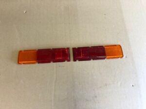 Ford Escort mk1 Rear Light Lens      pair.......Brand New        In Stock!
