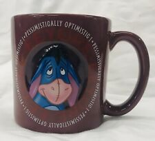 Eeyore Mug Pessimistically Optimistic Disney Mug Coffee Cup Large 3D