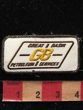 Vtg GB GREAT BASIN PETROLEUM SERVICES Advertising / Uniform Patch 81V9