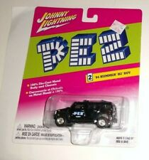 Johnny  Lightning Black Pez Candy '04 Hummer H2 SUV - 2004 WEAR